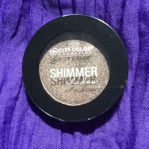City Color shimmer eyeshadow